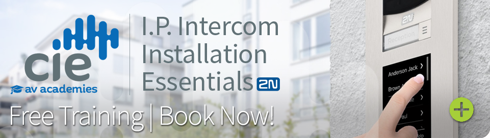 2N IP Intercom Installation Essentials free training academy